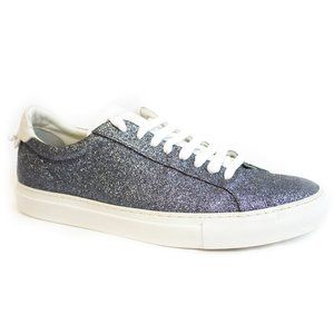 Givenchy Blue Glitter Sneakers